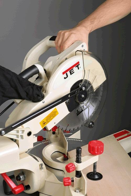 Станок торцово-усорезный JET JSMS-10L