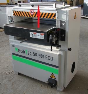 Станок рейсмусовый WoodTec SR 600 W ECO