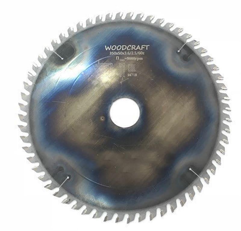 Пила дисковая Woodcraft 500*50
